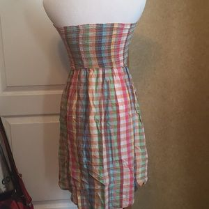 Band of Gypsies Dresses - Band Of Gypsies Strapless Dress Multi Colored